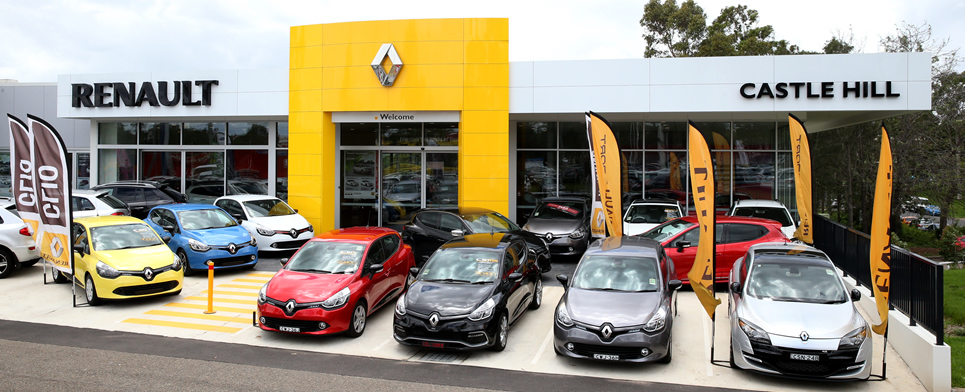 Welcome to Castle Hill Renault
